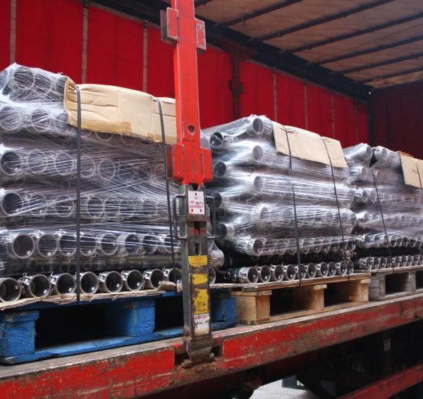 Las mangueras de metal envasados