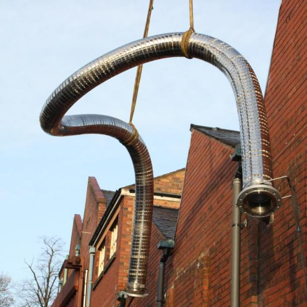 Stainless Steel Hose Installation