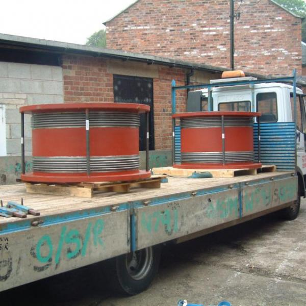 Transporting Metal Bellows
