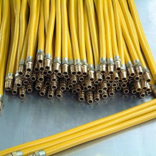 Yellow Metal Hoses